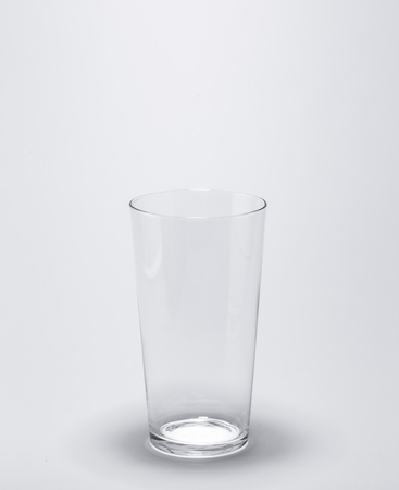 no water: empty Glass with no water