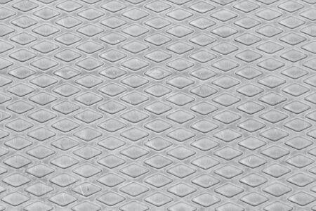 checkerplate: Seamless metal texture, Table of steel sheet. Stock Photo