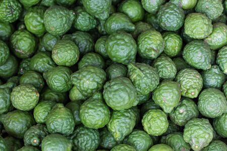 aroma therapy: Aroma therapy Kaffir lime, fresh bergamot Stock Photo