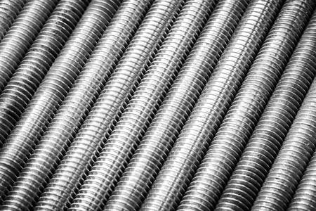 Screws as industrial background, texture of screws Reklamní fotografie
