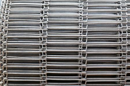 malla metalica: Cerca de alambre de hierro, malla met�lica de acero inoxidable.