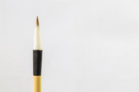 Writing brush, Chinese calligraphy Stok Fotoğraf