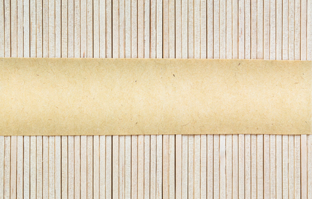 Wooden background with torn paper background for add text message Stok Fotoğraf
