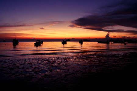 koh tao: sunset at Koh Tao