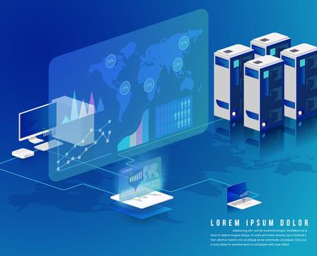 Concept de traitement de données volumineuses
