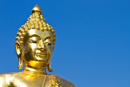 The golden buddha at Chiang Rai, Thailand