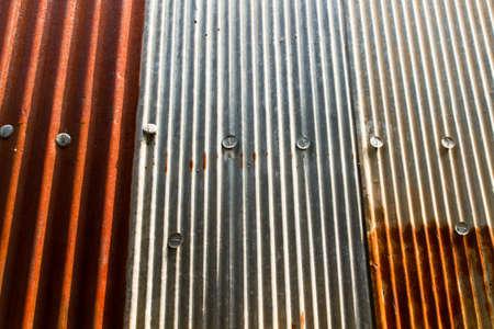galvanize: Rusty zinc background