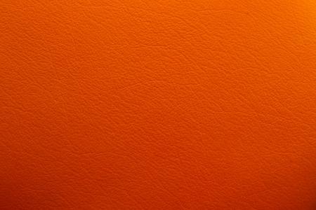 Texture of orange leather photo