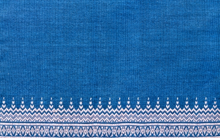blue silk: Thai cloth texture
