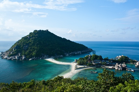 The beautiful island in southeast of Thailand photo