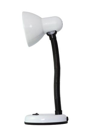 Desk lamp on white background Stock Photo - 9155849