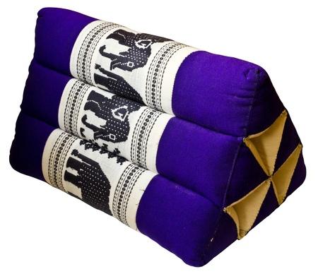 Thai style backrest pillow Stock Photo