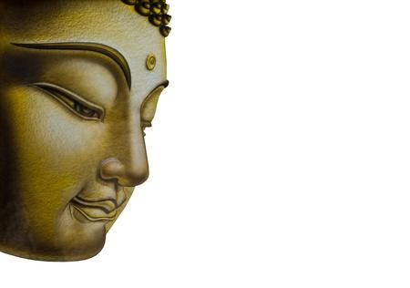 buda: Bello rostro de la imagen de Buda