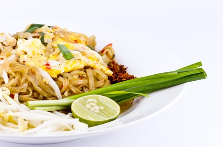 Pad Thai, Thai fried noodle Stock Photo - 9600489