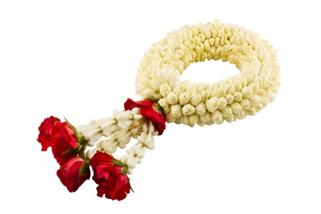 Thai jasmine garland photo