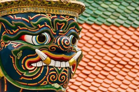 Thai giant guardian Stock Photo