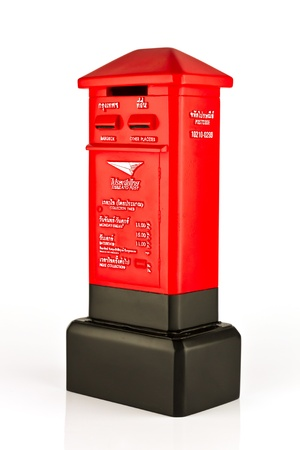 Model of Thai post box photo