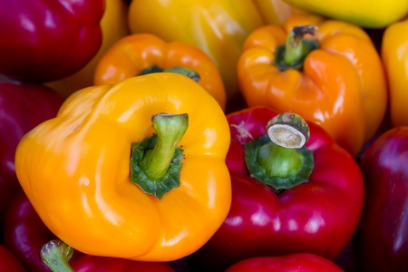 Sweet pepper background