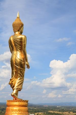 Buddha image at  Wat Phra That Kao Noi , Nan province, Thailand