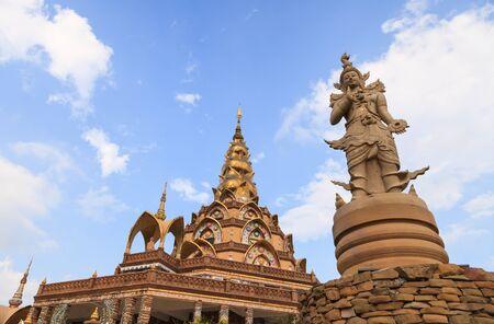 Wat Pha sorn kaew, the ceramic Buddhist temple in Phetchabun province, Thailand Stock Photo