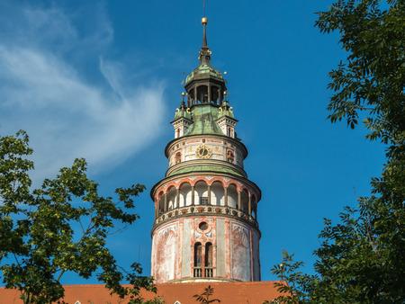 Cesky Krumlov castle (Krumau castle), UNESCO World Heritage Site, Czech Republic.