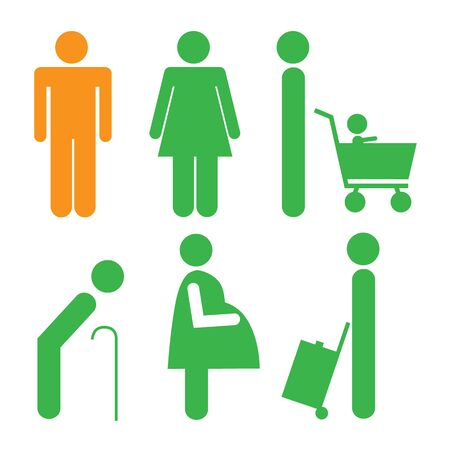 male symbol: symbol male female Illustration