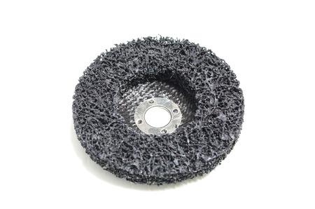 abrasive: abrasive discs isolated