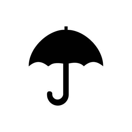 Black Package symbol. Keep dry. For banner, general design print and websites. Illustration vector. Standard-Bild - 133537037