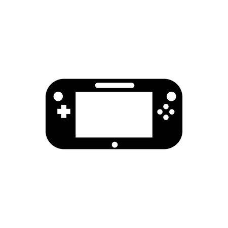 Black Pocket Game symbol for banner, general design print and websites. Illustration vector. Standard-Bild - 134596322
