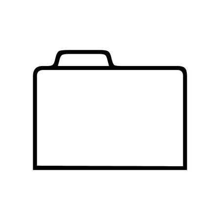 Folder symbol for banner, general design print and websites. Illustration vector. Illusztráció