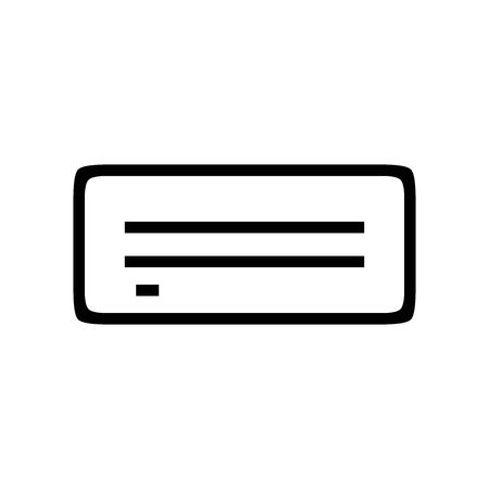 Black Server symbol for banner, general design print and websites. Illustration vector. Illusztráció