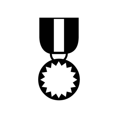 Cute Medal icon for banner, general design print and websites. Illustration vector.