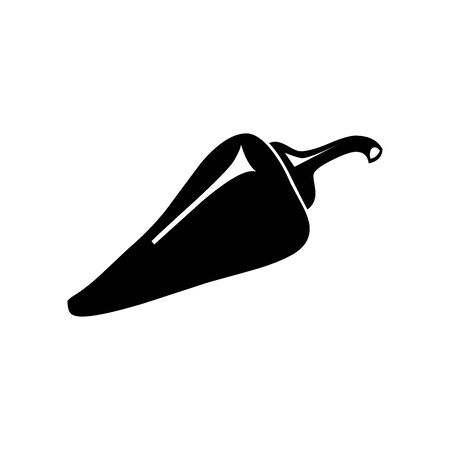 Black pepper symbol for banner, general design print and websites. Illustration vector.