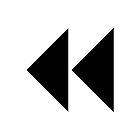 Black Fastback symbol for banner, general design print and websites. Illustration vector.