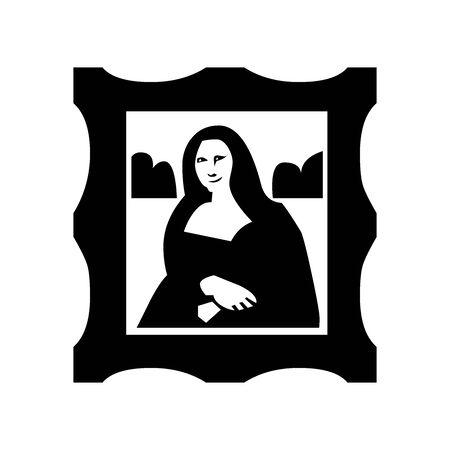 Black Arts symbol for banner, general design print and websites. Illustration vector.