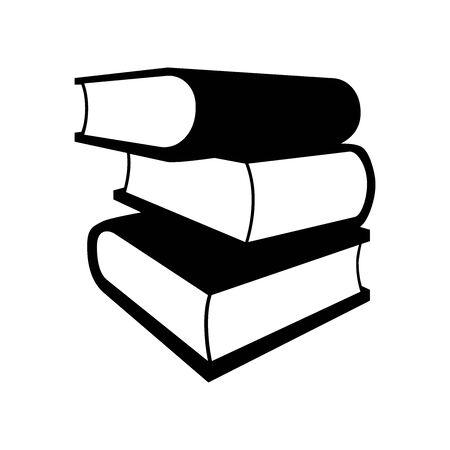 Black Book symbol for banner, general design print and websites. Illustration vector.