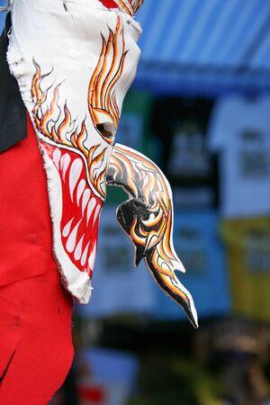 The Phi-Ta-Khon Mask photo