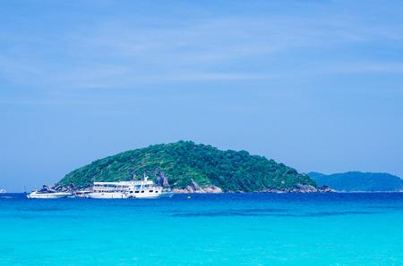 Beautiful sea and ocean, Ta chai Island, Similan, Thailand Stock Photo