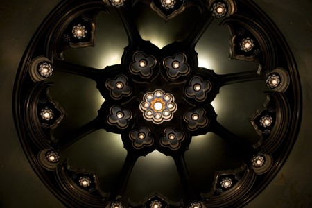Lamp ceiling. photo