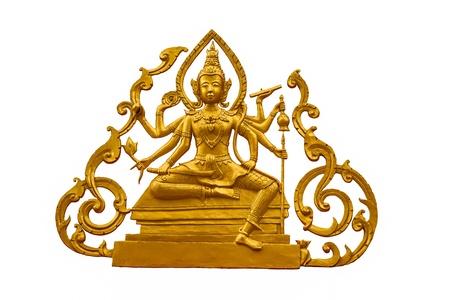 Siva on white background photo