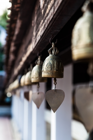 Bell in pratat sawi, chumphon, south of Thailand photo