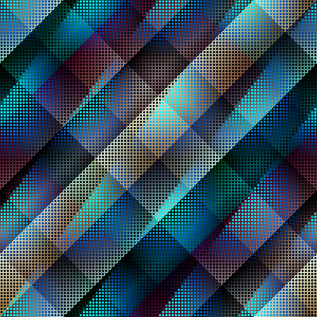 Seamless background pattern. Diagonal abstract pattern with dots