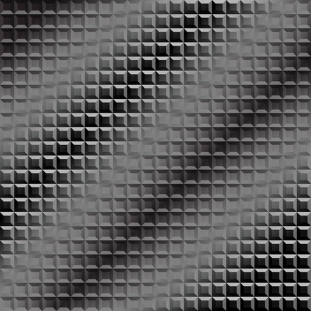 grey pattern: Seamless background pattern. Diagonal mosaic grey pattern.