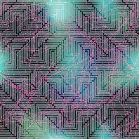solder: Seamless background pattern. Computer Grid Matrix pattern on blurred background.