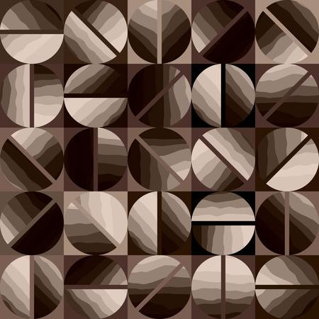 coffeehouse: Seamless background pattern. Coffee pattern in geometric style. Illustration