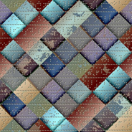continuity: Seamless background pattern. Illustration