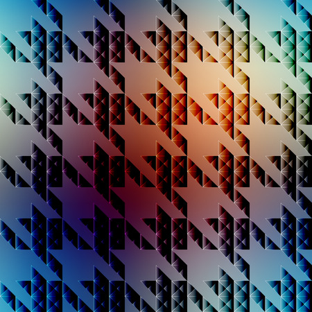 houndstooth: Seamless background pattern. Hounds-tooth pattern on blurred background.