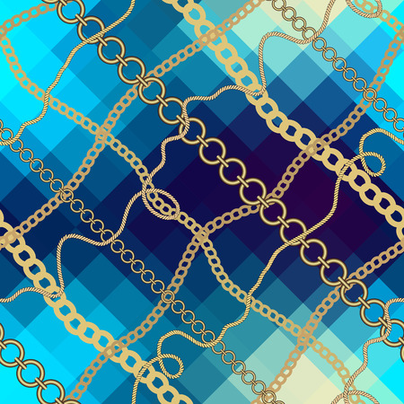 endlessly: Seamless background pattern. Will tile endlessly. Nautical style.