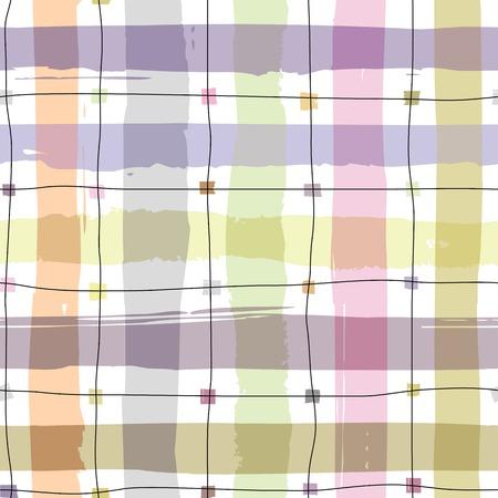 patch of light: Seamless background pattern. Plaid pattern on white background. Illustration