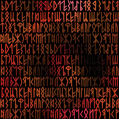 continuity: Seamless background pattern. Will tile endlessly. Runes background